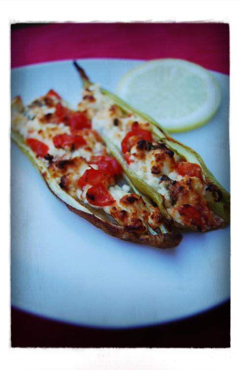 piments farcis - stuffed peppers