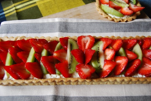 tarte fraise ricotta