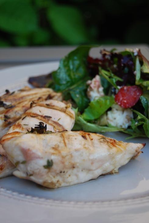 BBQ poulet citron - Thyme Lemon BBQ Chicken