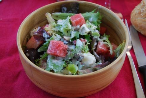 Salade Pasteque Gorgonzola