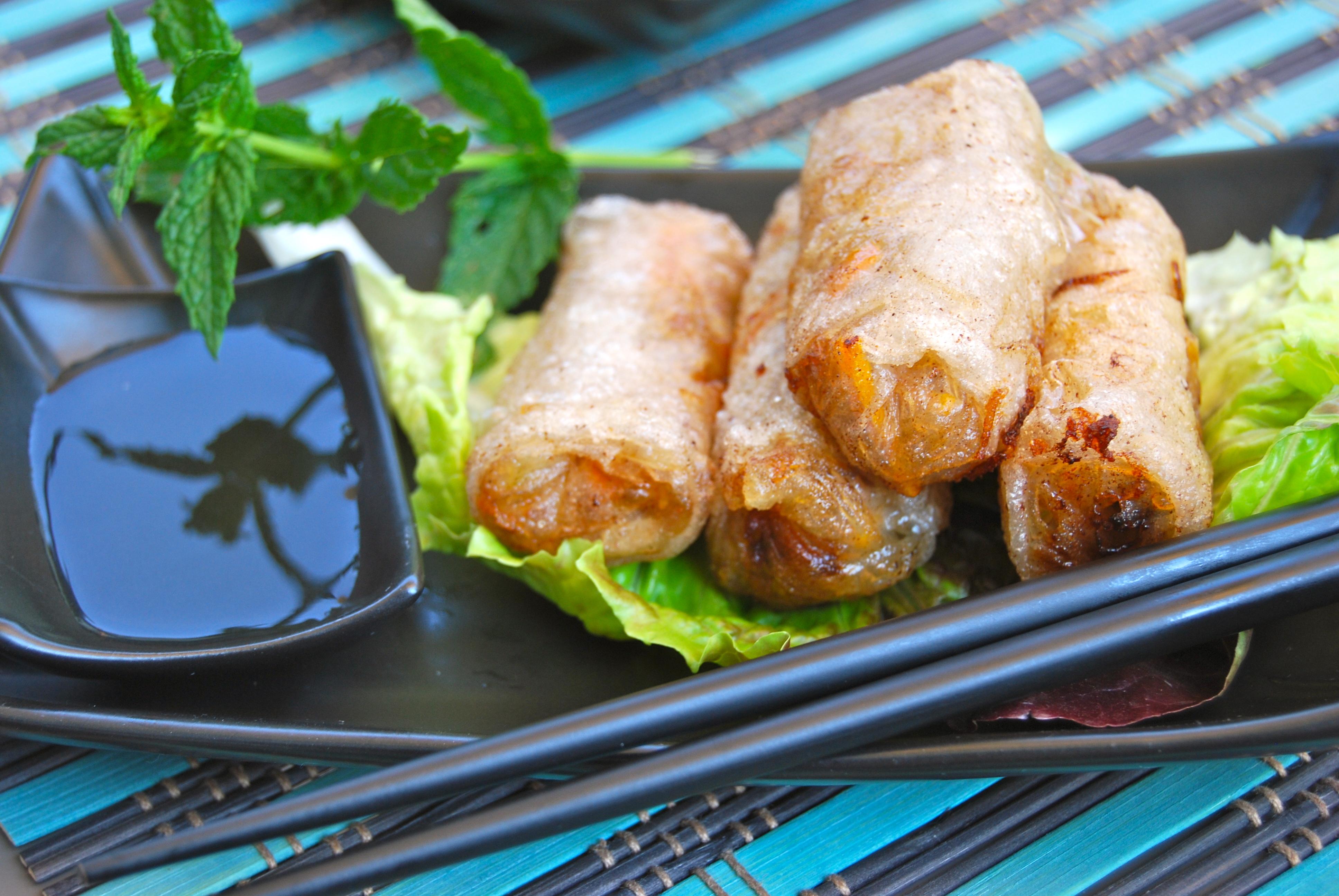 Nems vietnamiens my cooking instinct Nems vietnamiens