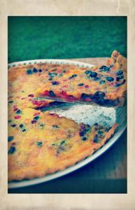 Blackcurrant & Redcurrant Tart - Tarte cassis groseille