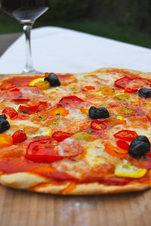 Summer pizza