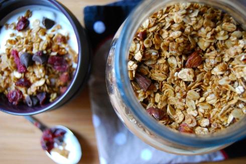 Homemade granola - Muesli