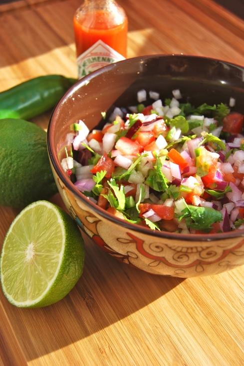 recettes salsa mexicaine