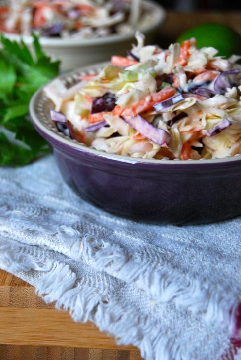 Crispy Coleslaw - Coleslaw croquant et multicolore