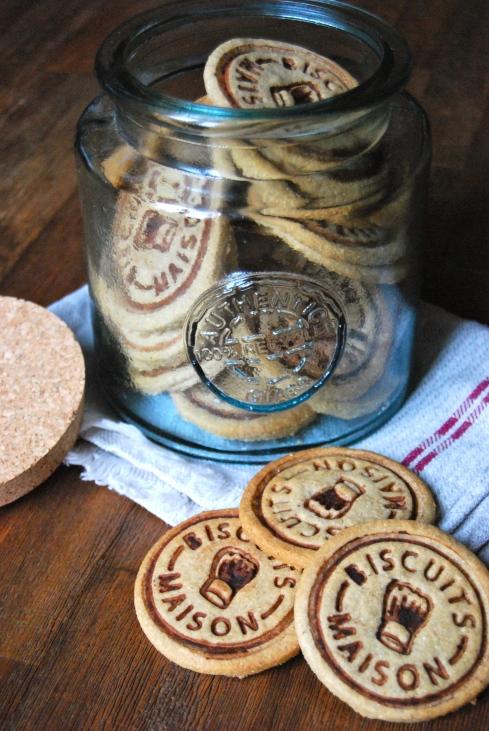 Easy Chestnut Cookies - Biscuits à la Châtaigne
