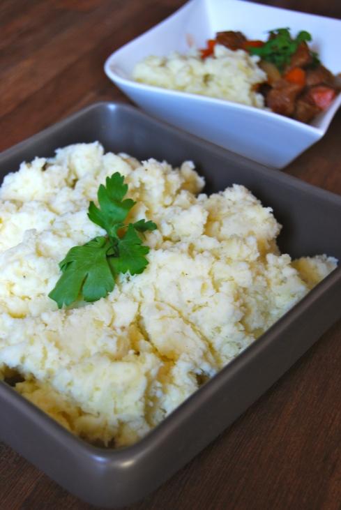 Creamy Philadelphia Smashed Potatoes - Ecrasée de pommes de terre au Philadelphia