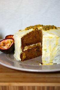 Exotic Carrot Cake - Gateau à la carotte exotique