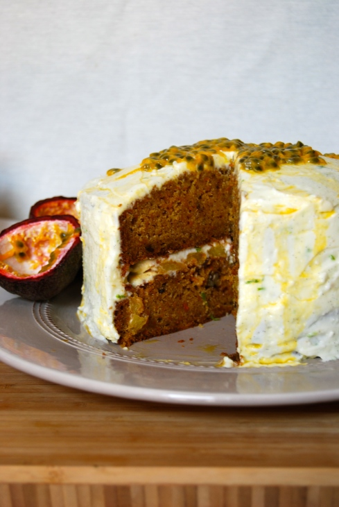 Exotic Carrot Cake - Gateau à la carotte exotique