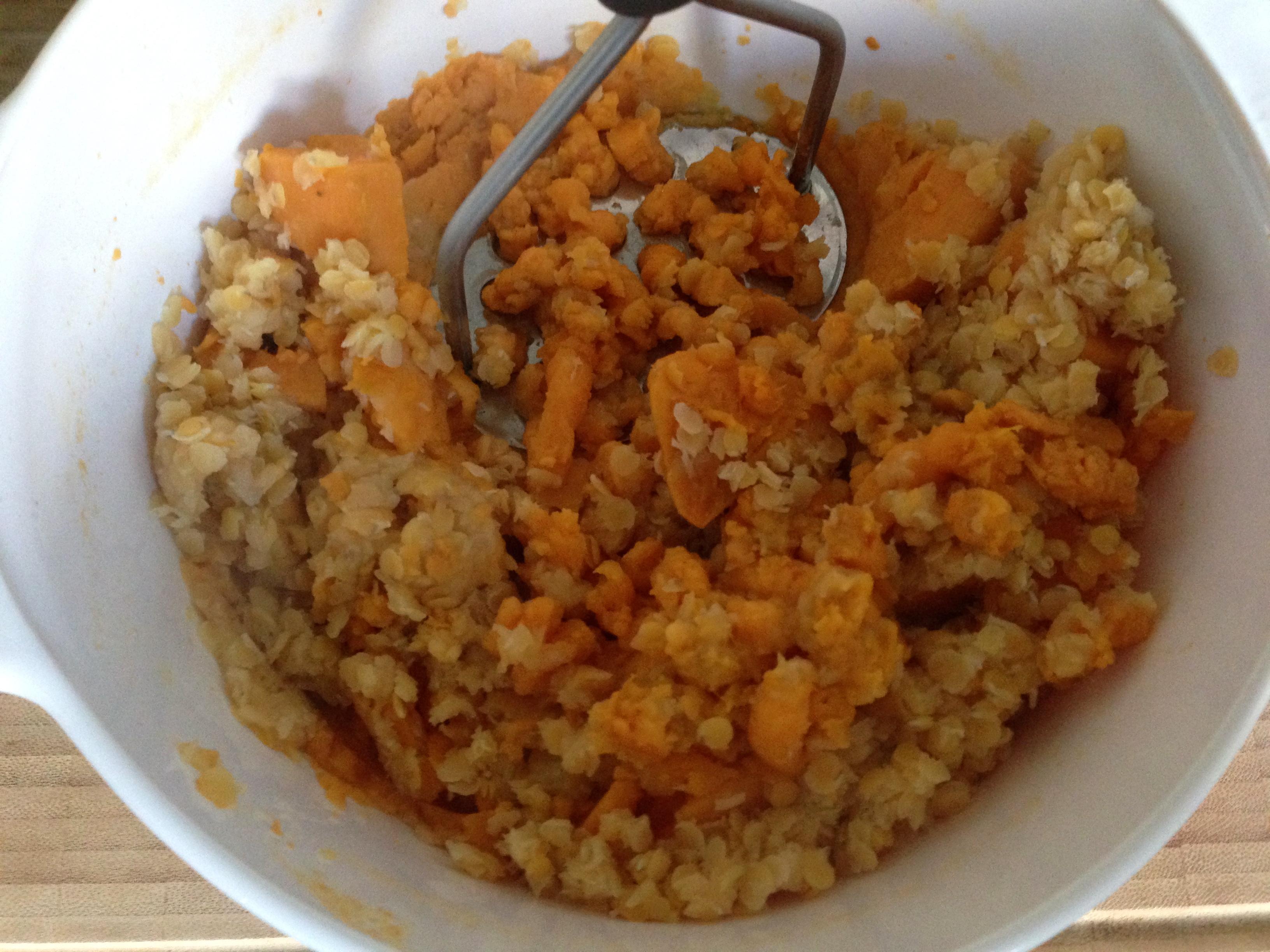 Galettes de patate douce et lentilles corail my cooking - Quand recolter les patates douces ...