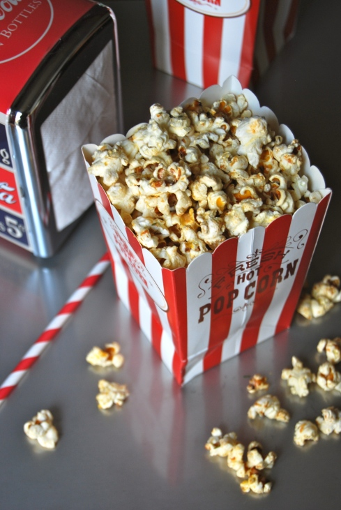 Cheddar and Chili Pop Corn - Pop Corn cheddar et piment