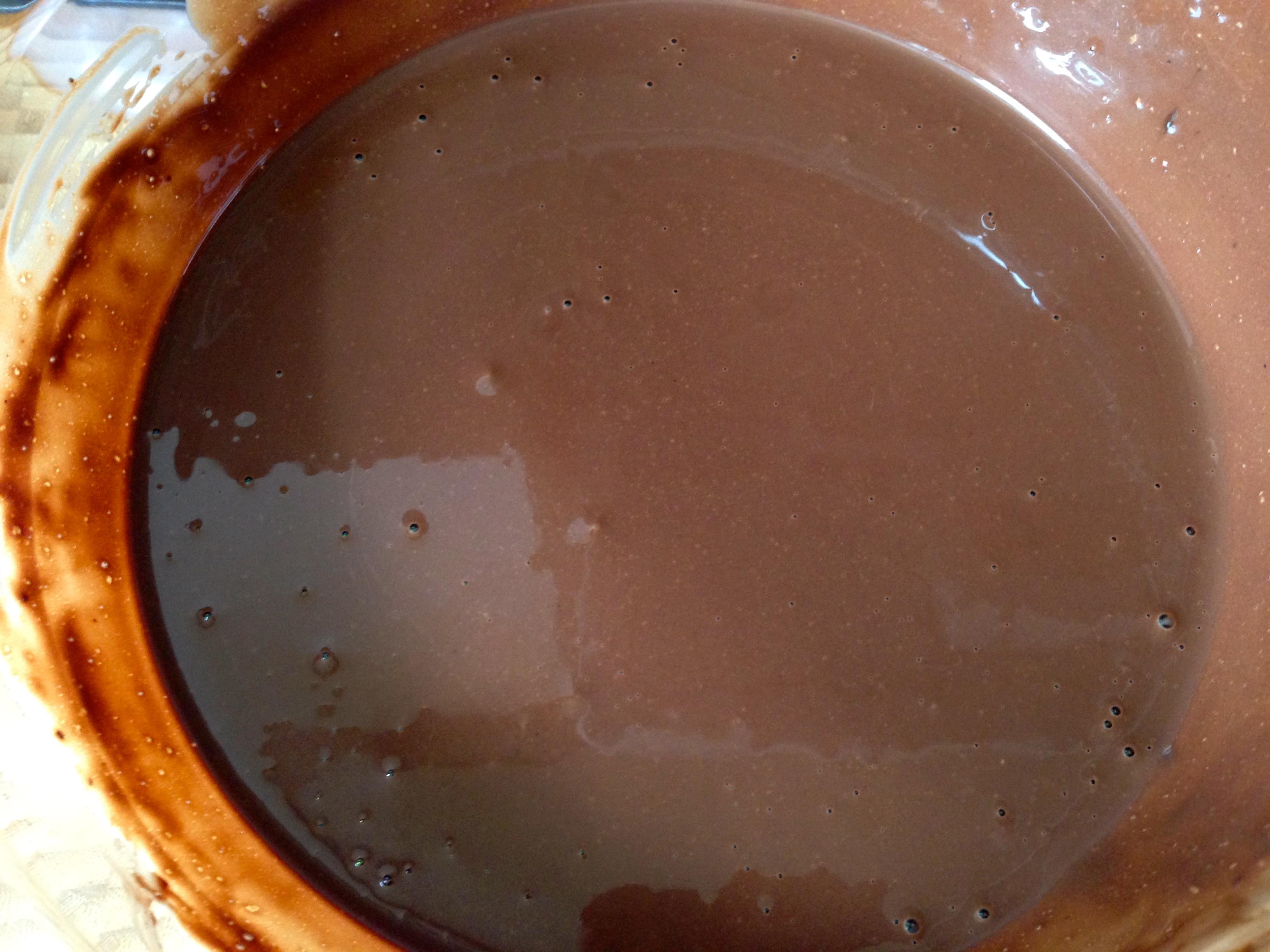 Glace au chocolat ohlala my cooking instinct - Les saints de glace c est quand ...