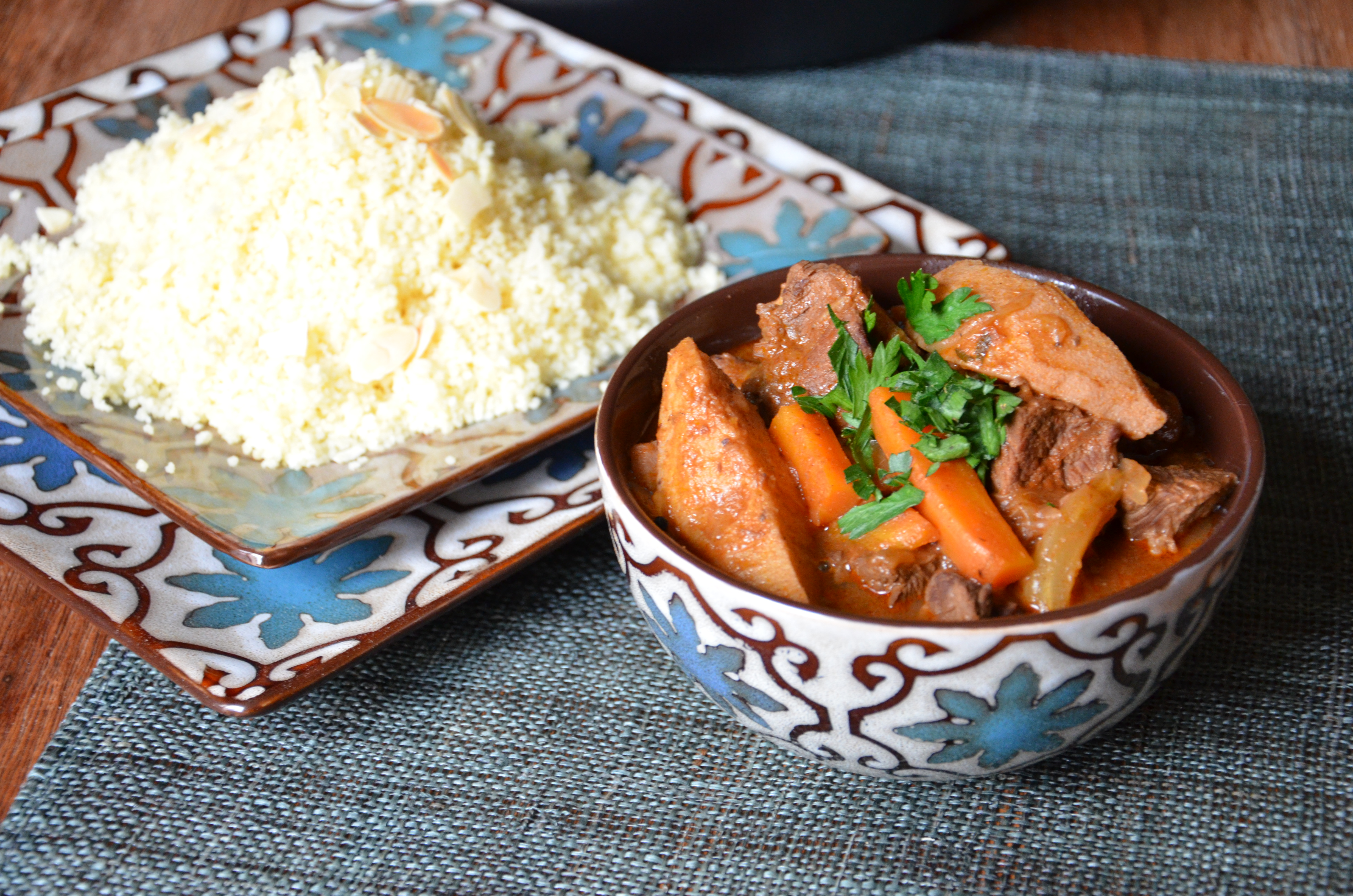 tajine de boeuf aux coings beef and quince tagine my cooking instinct. Black Bedroom Furniture Sets. Home Design Ideas