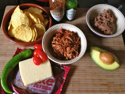 Pulled pork nachos - Quick and easy - Facile et rapide