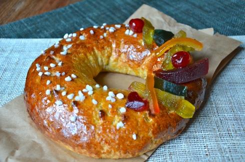 Brioche with candied fruits - Epiphany - Brioche des Rois aux fruits confits - Epiphanie