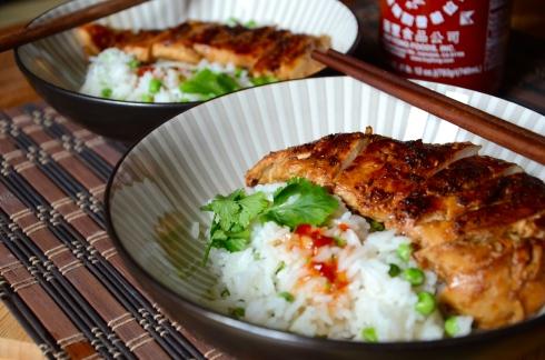 Lemongrass Chicken - Asian Recipe - Poulet Citronnelle - Recette Asiatique