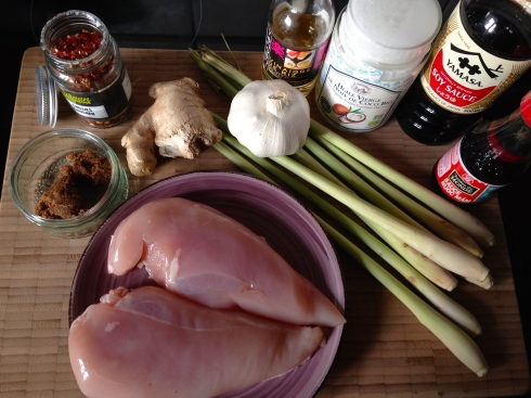 Lemongrass Chicken - Asian Recipe - Poulet Citronnelle - Recette Asiatique