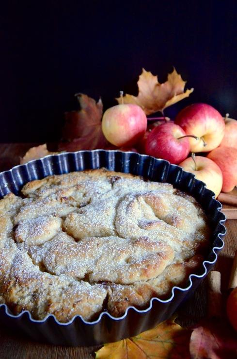 Gâteau brioché rustique aux pommes - Rustic apple cake